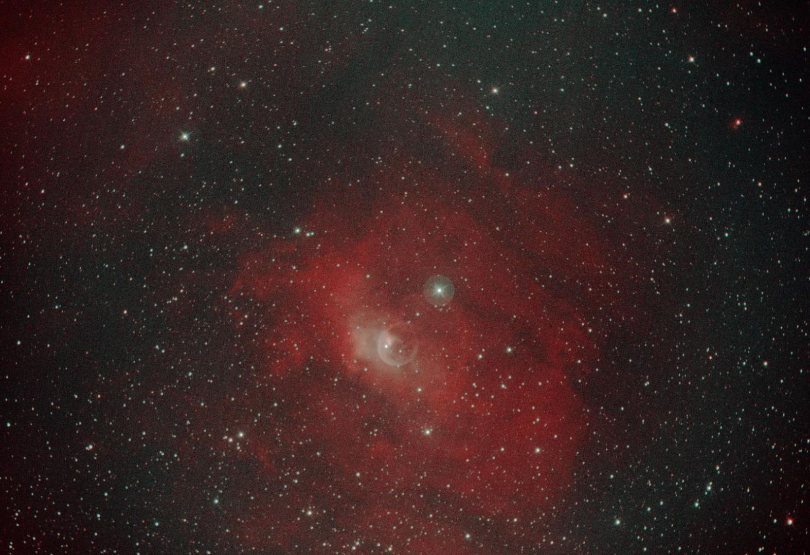NGC 7635, Bubble-Nebel (Thomas Reddmann)
